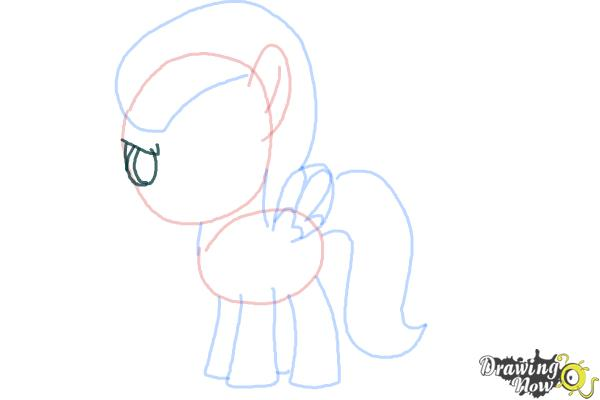 How to Draw Lightning Dust from My Little Pony Friendship Is Magic - Step 7