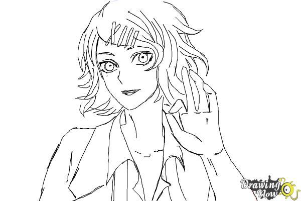How to Draw Juuzou Suzuya from