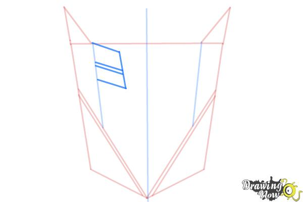 How to Draw Decepticon Logo from Transformers - Step 4