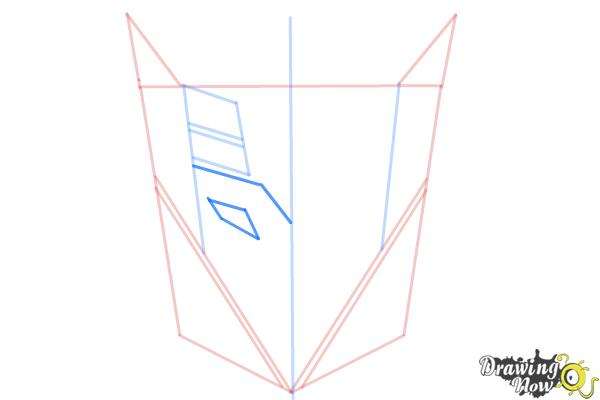 How to Draw Decepticon Logo from Transformers - Step 5