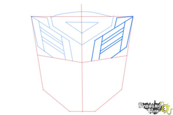 How To Draw Autobot Logo From Transformers Drawingnow