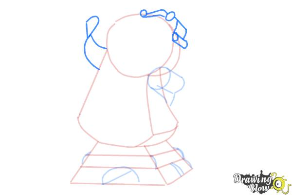 How to Draw Cogsworth from Beauty And The Beast - Step 6