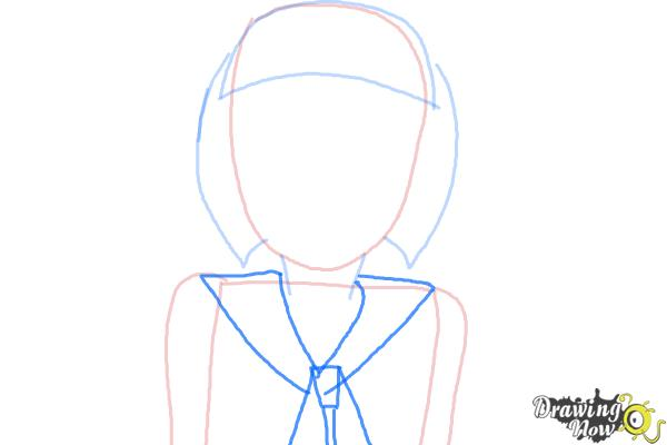 How to Draw Petunia Elkwood from Todd Allison The Petunia Violet - Step 3