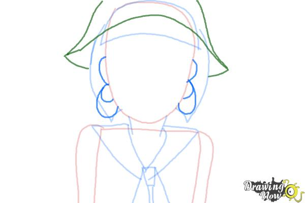 How to Draw Petunia Elkwood from Todd Allison The Petunia Violet - Step 4