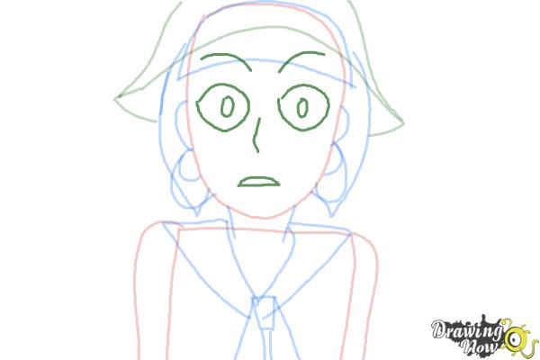 How to Draw Petunia Elkwood from Todd Allison The Petunia Violet - Step 5