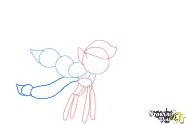 How to Draw Breezies from My Little Pony Friendship is Magic - Step 6