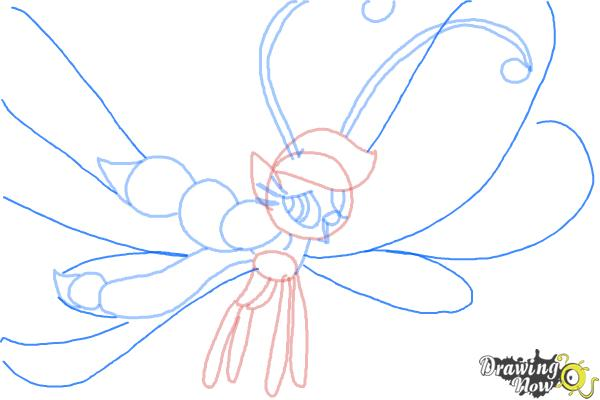 How to Draw Breezies from My Little Pony Friendship is Magic - Step 9