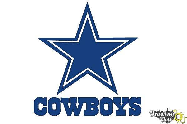 How To Draw Dallas Cowboys Logo Nfl Team Logo Drawingnow
