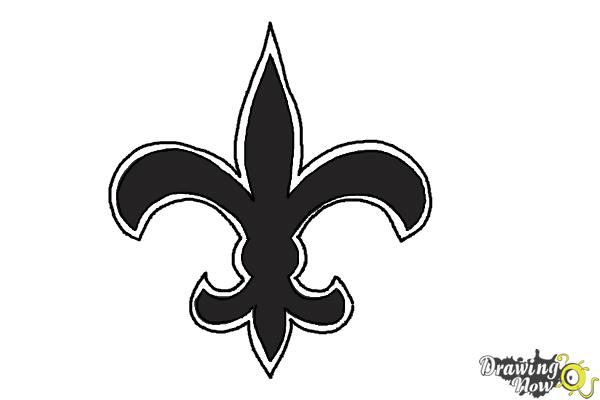 How to Draw Saints Logo, New Orleans Saints, Nfl Team Logo - DrawingNow