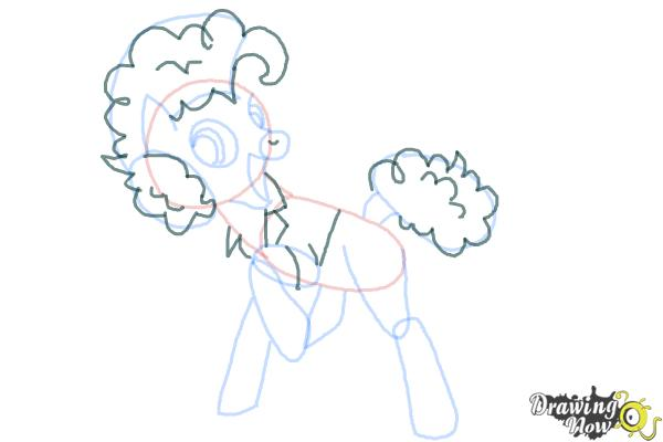 How to Draw Cheese Sandwich from My Little Pony - Step 9