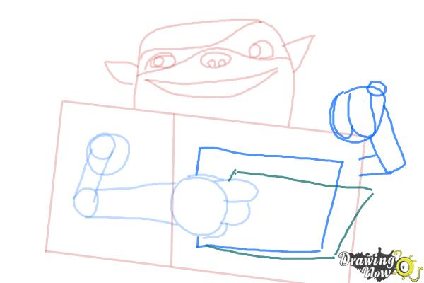 How to Draw Shoe from The Boxtrolls - Step 5