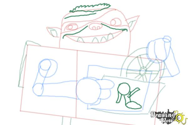 How to Draw Shoe from The Boxtrolls - Step 8