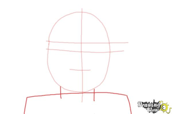 How to Draw Kaya, Doll from American Girl - Step 3