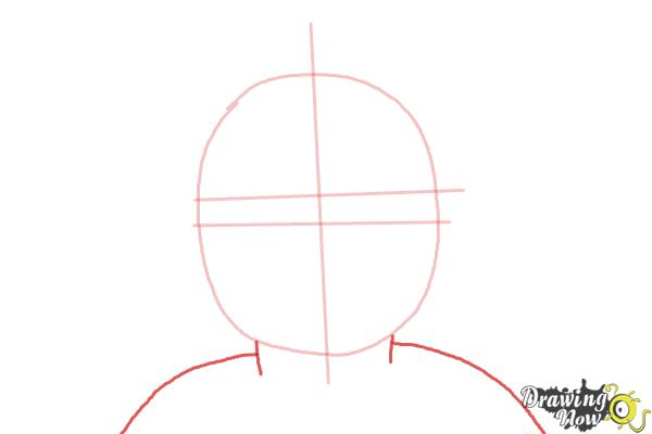 How to Draw Kit, Doll from American Girl - Step 3