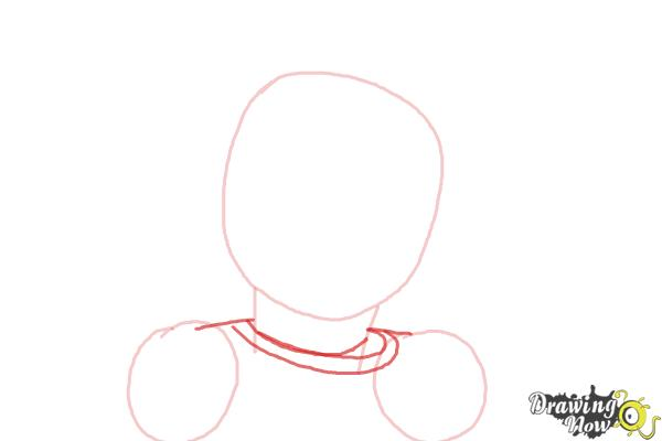 How to Draw Isabelle, Doll from American Girl - Step 3