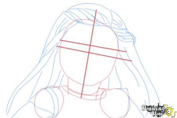How to Draw Isabelle, Doll from American Girl - Step 7