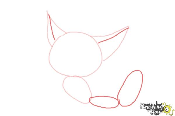 How to Draw a Baby Fox - Step 4