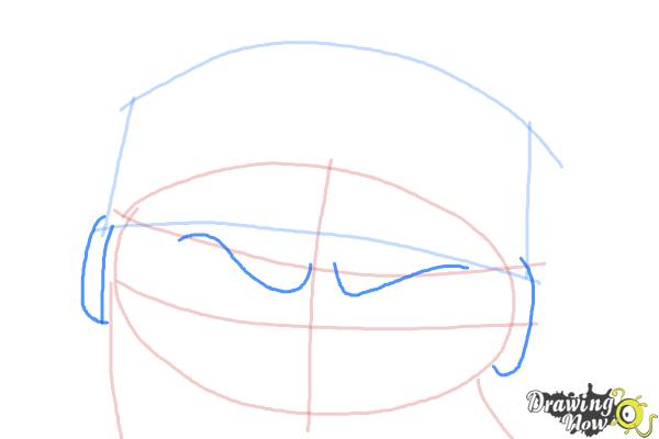 How to Draw Short Fuse from The Penguins Of Madagascar - Step 4