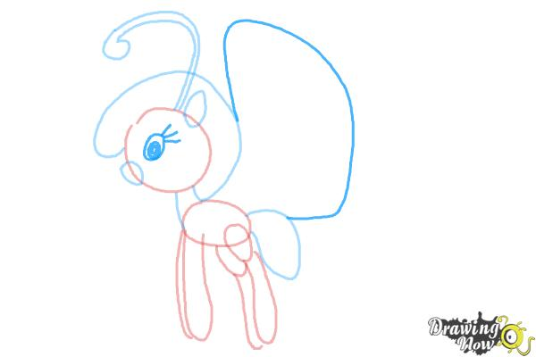 How to Draw Cloudia Breezie from My Little Pony Friendship is Magic - Step 6
