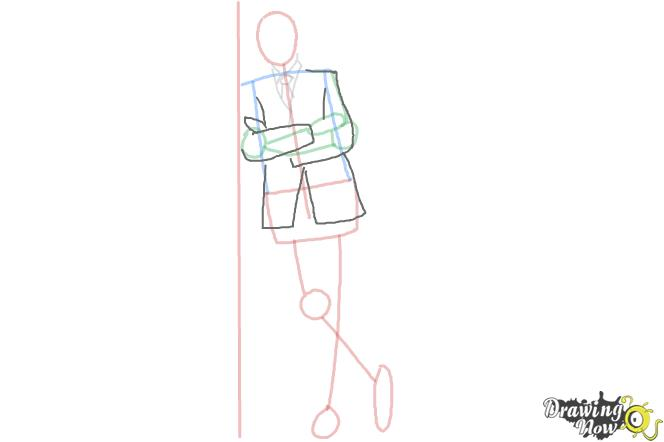How to Draw a Simple Person - Step 6