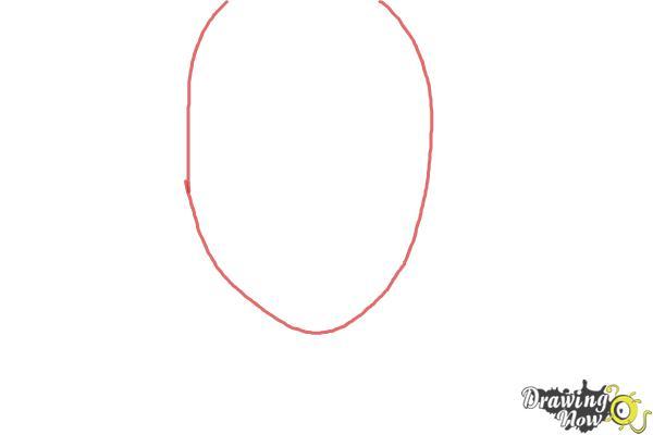 How to Draw Yukio Okumura from Ao No Exorcist, Blue Exorcist - Step 1