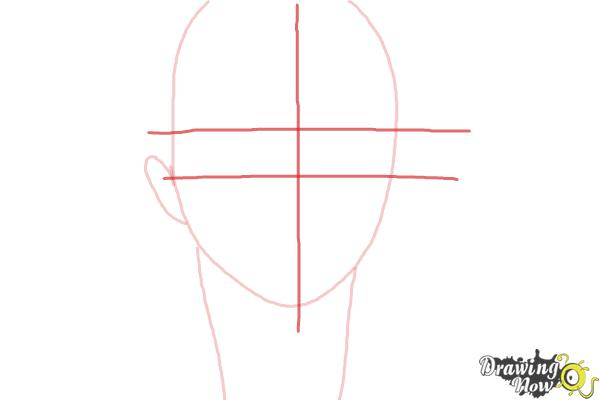 How to Draw Yukio Okumura from Ao No Exorcist, Blue Exorcist - Step 3