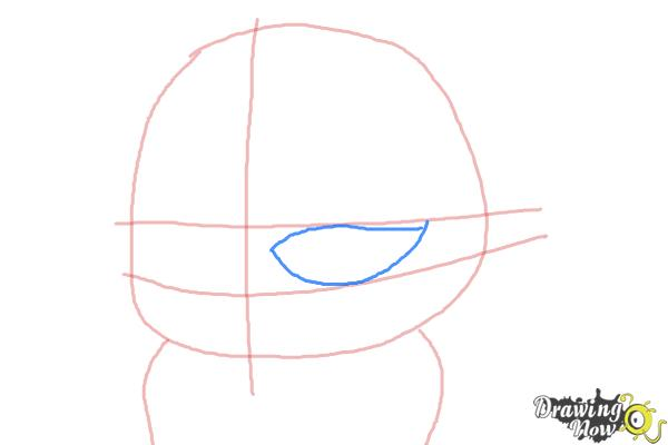 How to Draw Eva from The Penguins of Madagascar - Step 3