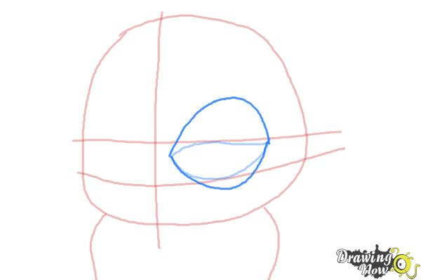 How to Draw Eva from The Penguins of Madagascar - Step 4