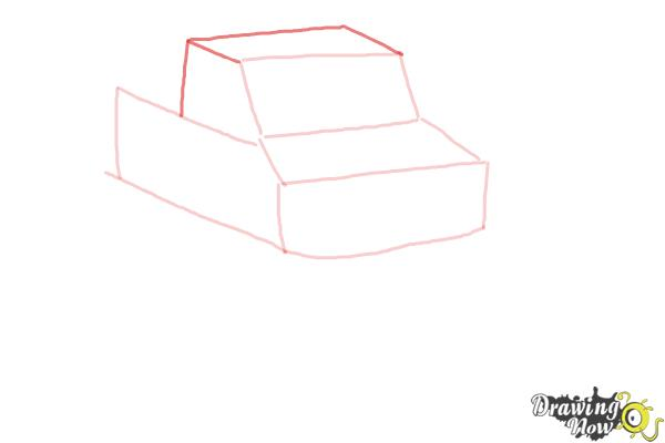 How to Draw a Monster Truck Step by Step - Step 5
