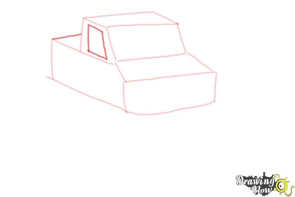 How to Draw a Monster Truck Step by Step - Step 6
