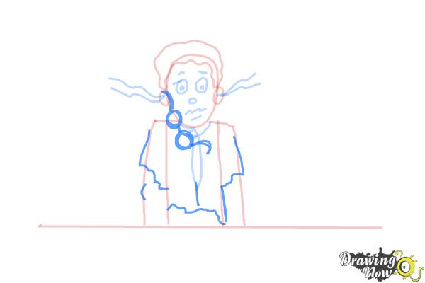 How to Draw a Science Lab Accident - Step 7