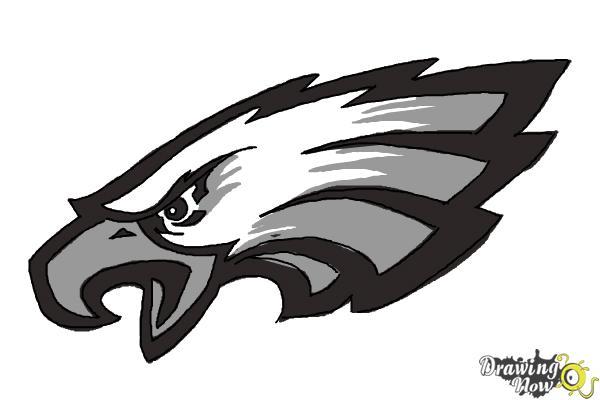 How To Draw Philadelphia Eagles Logo