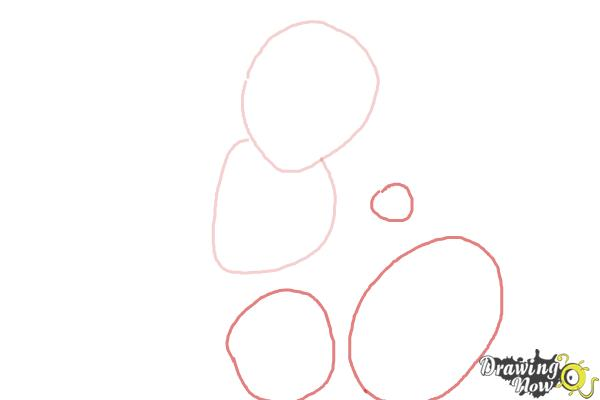 How to Draw Gogo Tomago from Big Hero 6 - Step 2