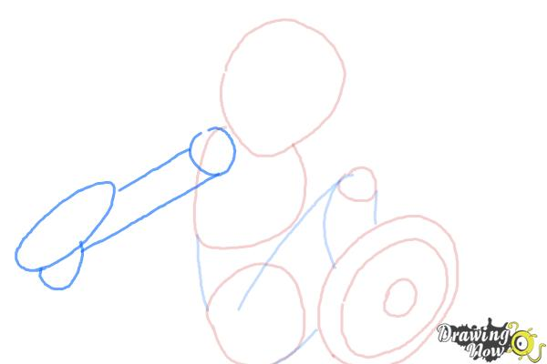 How to Draw Gogo Tomago from Big Hero 6 - Step 4