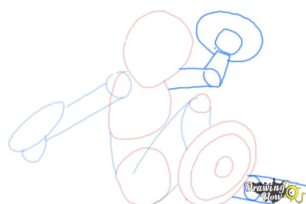How to Draw Gogo Tomago from Big Hero 6 - Step 5