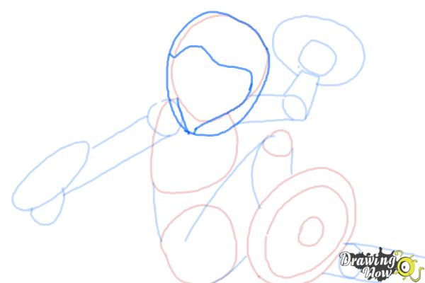 How to Draw Gogo Tomago from Big Hero 6 - Step 6