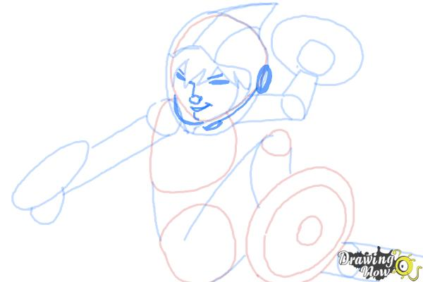 How to Draw Gogo Tomago from Big Hero 6 - Step 8
