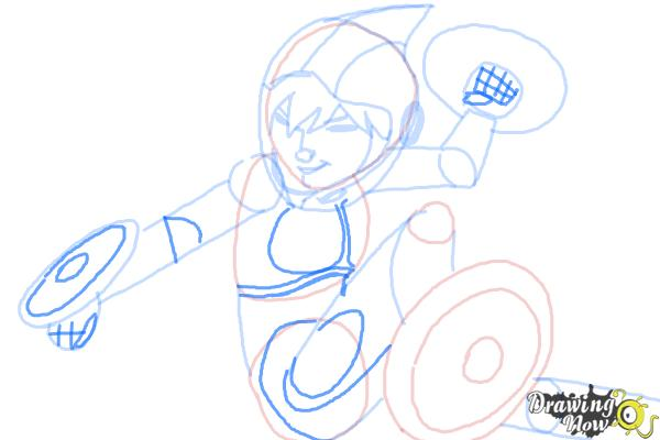 How to Draw Gogo Tomago from Big Hero 6 - Step 9