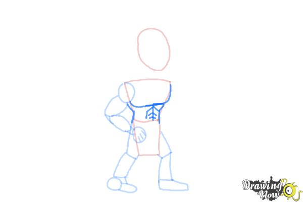 How to Draw Native Americans - Step 4