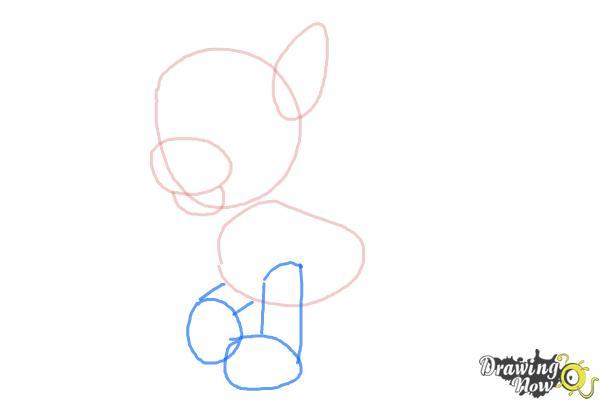 How to Draw Rocky Paw Patrol - Step 3