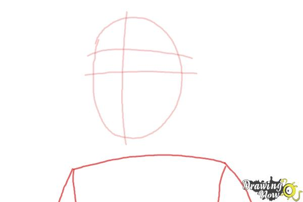 How to Draw Clementine from The Walking Dead - Step 3