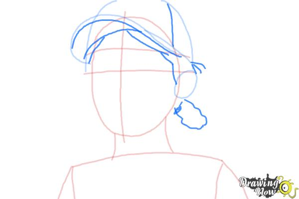 How to Draw Clementine from The Walking Dead - Step 5