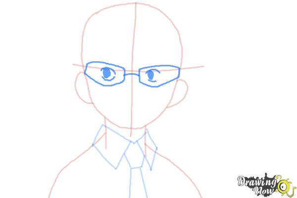 How to Draw Konekomaru Miwa from Ao No Exorcist, Blue Exorcist - Step 5