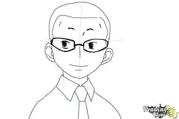 How to Draw Konekomaru Miwa from Ao No Exorcist, Blue Exorcist - Step 7