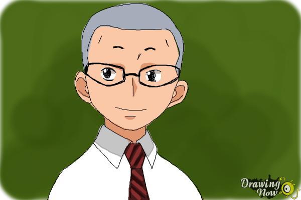 How to Draw Konekomaru Miwa from Ao No Exorcist, Blue Exorcist - Step 8
