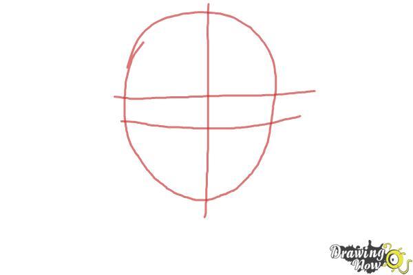 How to Draw Izumo Kamiki from Ao No Exorcist, Blue Exorcist - Step 1