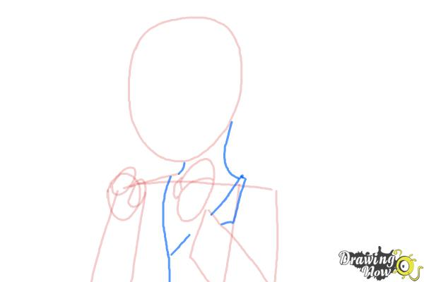 How to Draw Manami Tamura from Oreimo - Step 5
