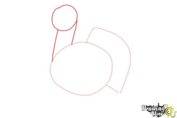 How to Draw a Simple Turkey - Step 3