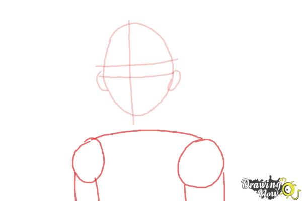 How to Draw Canada from Hetalia - Step 3