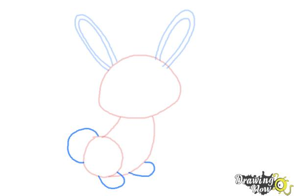 How to Draw a Simple Bunny - Step 4